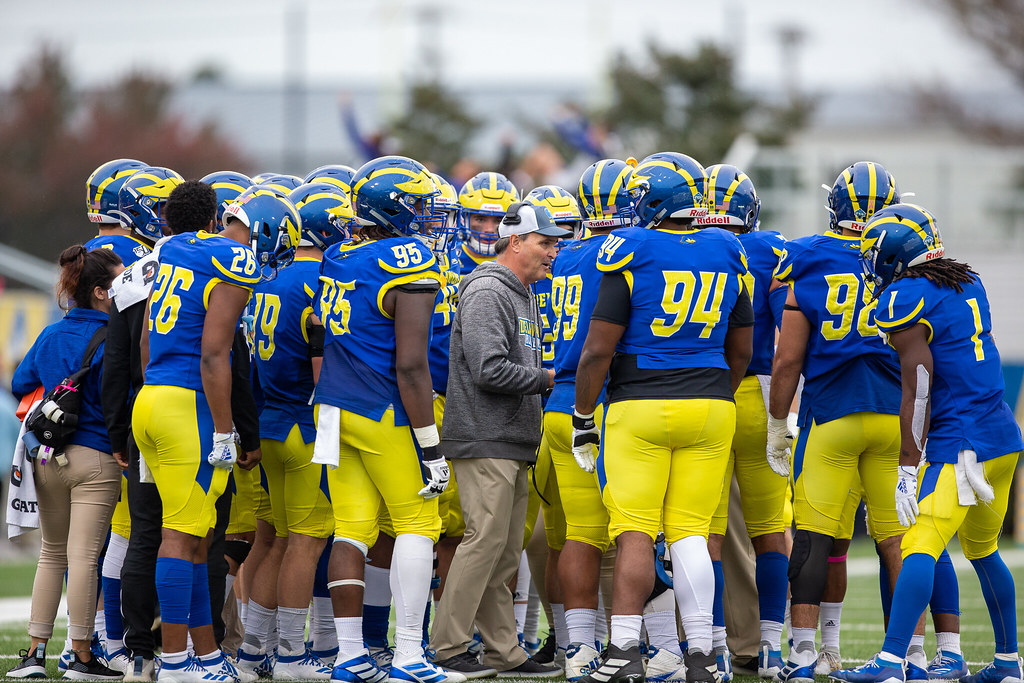 Second half comeback not enough as Blue Hens lose homecoming battle with Richmond