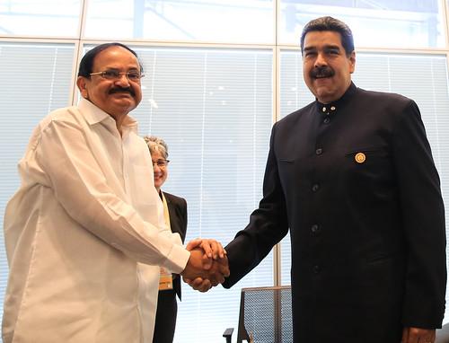 Presidente Maduro fortalece lazos de amistad con la República de la India