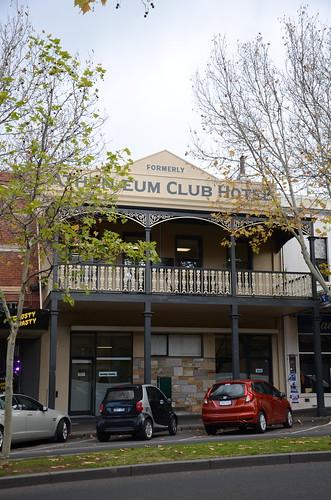 hotel pub athenaeumhotel bendigo australia architecture victoria athenæumhotel