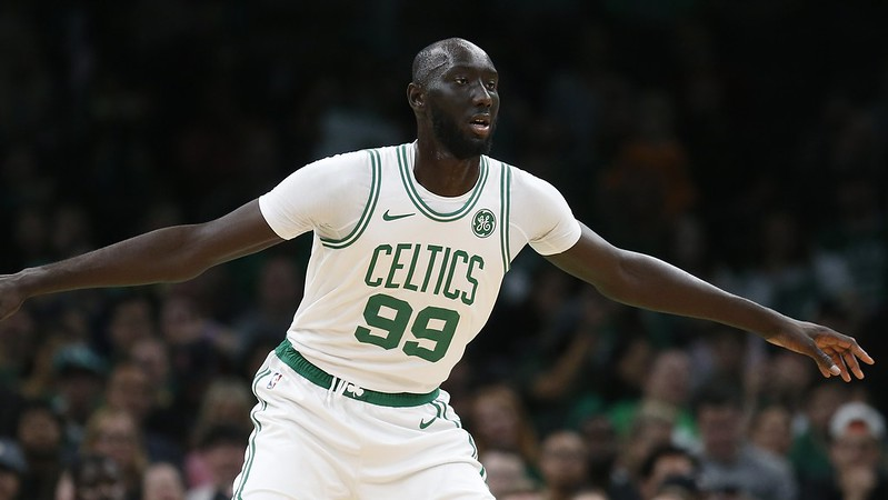 Tacko Fall。(達志影像資料照)