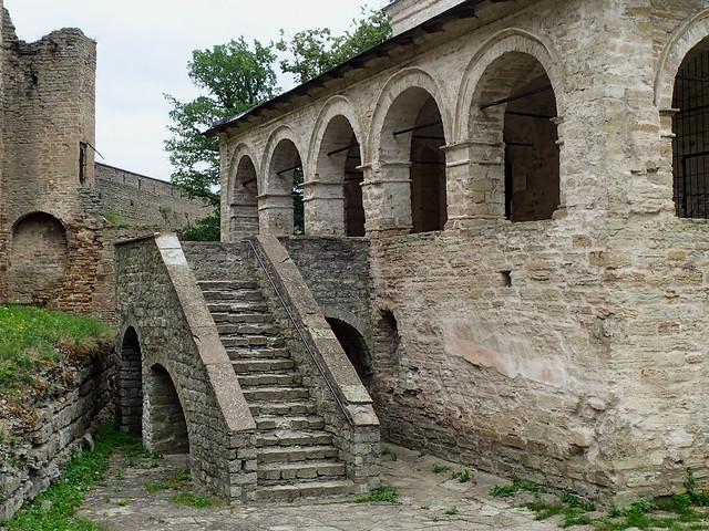 Escalier en la forteresse, Ivangorod