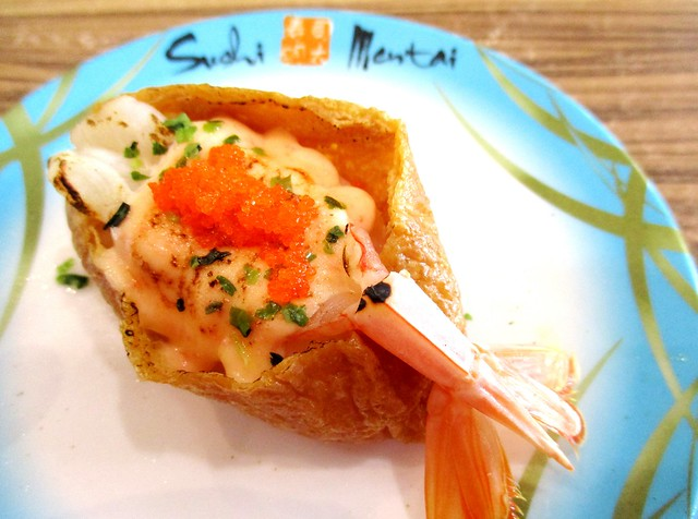 Sushi Mentai prawn