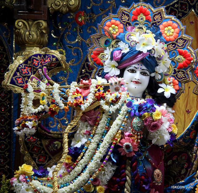ISKCON Juhu Sringar Deity Darshan on 27th  Oct 2019