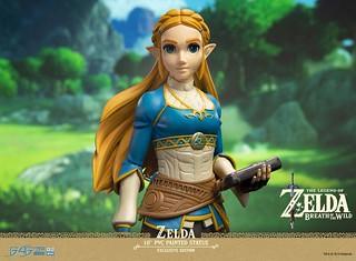 海拉魯大地的精神象徵!《薩爾達傳說:曠野之息》薩爾達公主 10 吋 PVC 立體化人形(Zelda Exclusive Edition)