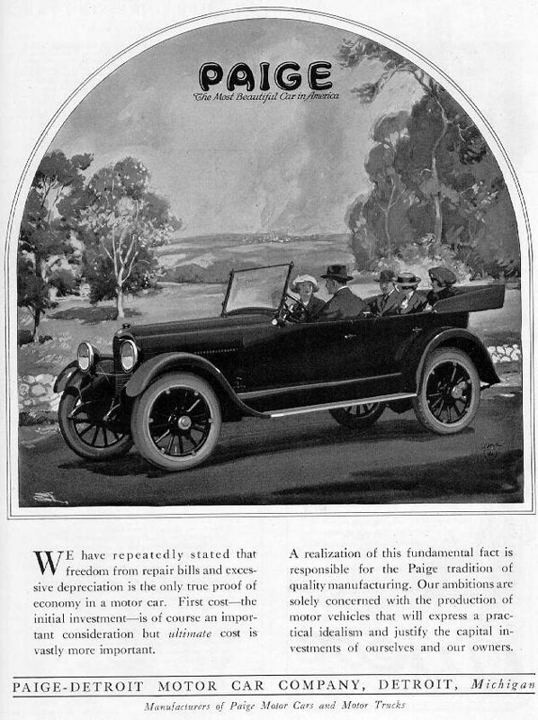 1920 Paige Touring