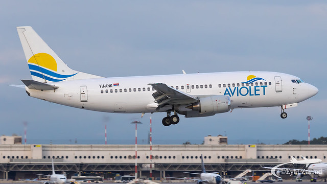 MXP - Aviolet Boeing 737-300 YU-ANK