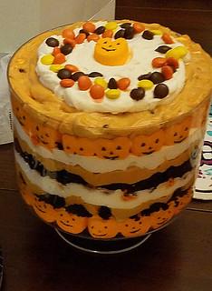 Carolyn's Halloween Trifle
