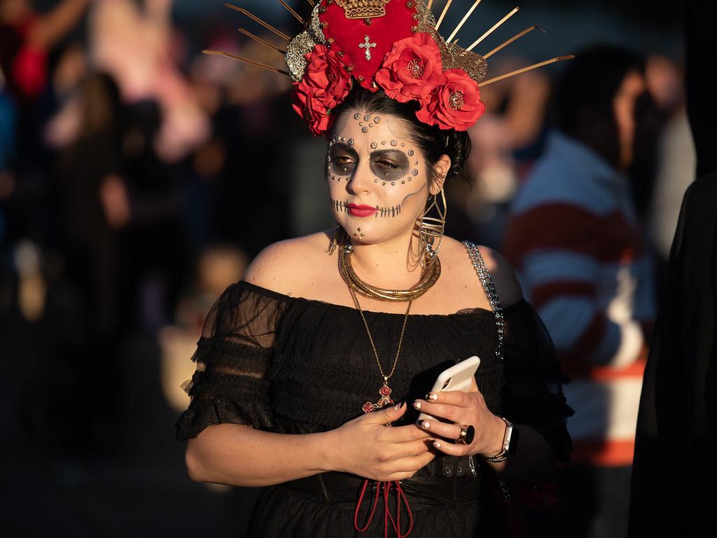 2019 Dallas Dia de los Muertos parade