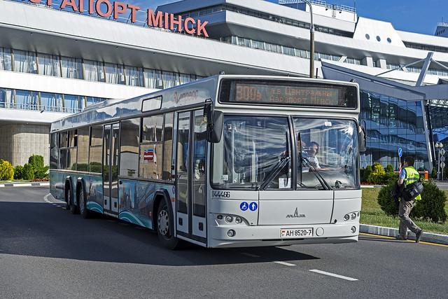 MAZ-107 bus