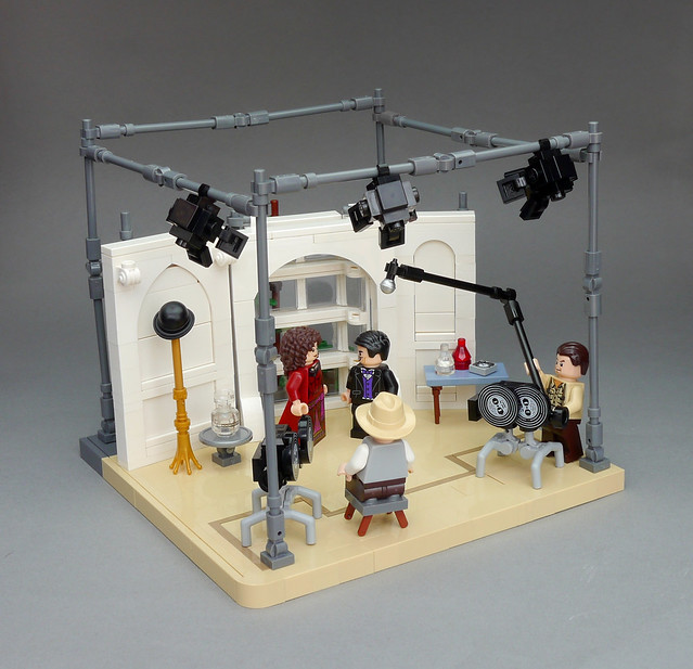 LEGO film set movie studio