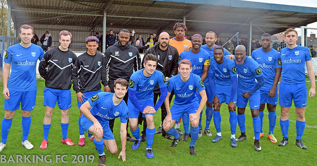 Barking FC v Margate FC - Saturday October 26th 2019