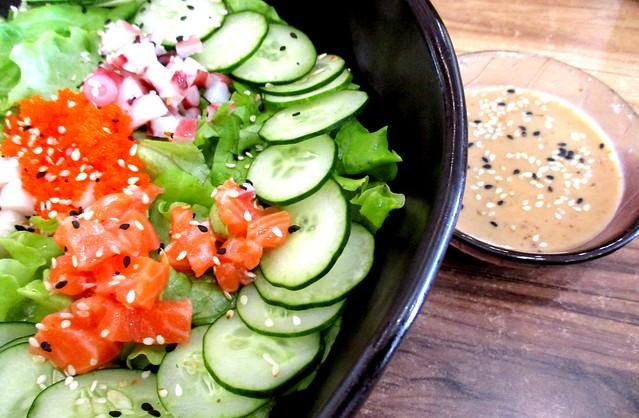 Sushi Mentai sashimi salad
