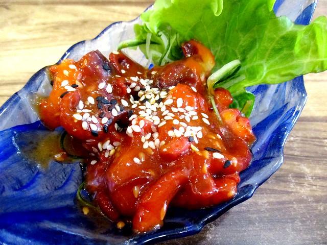 Sushi Mentai chuka idako