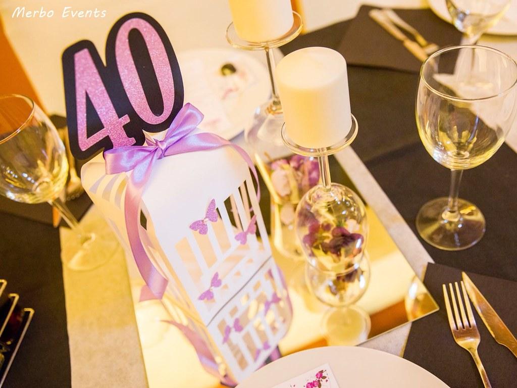 organizacion 40 cumpleaños merbo events