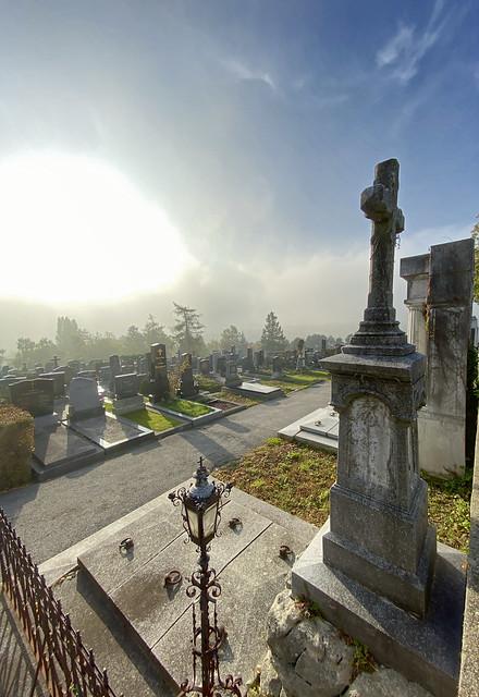 Sievering Cemetery in Vienna