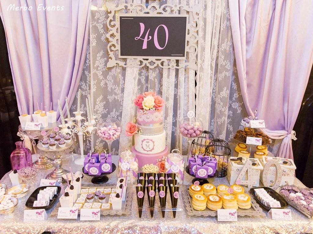 40 cumpleaños lilay plata merbo events