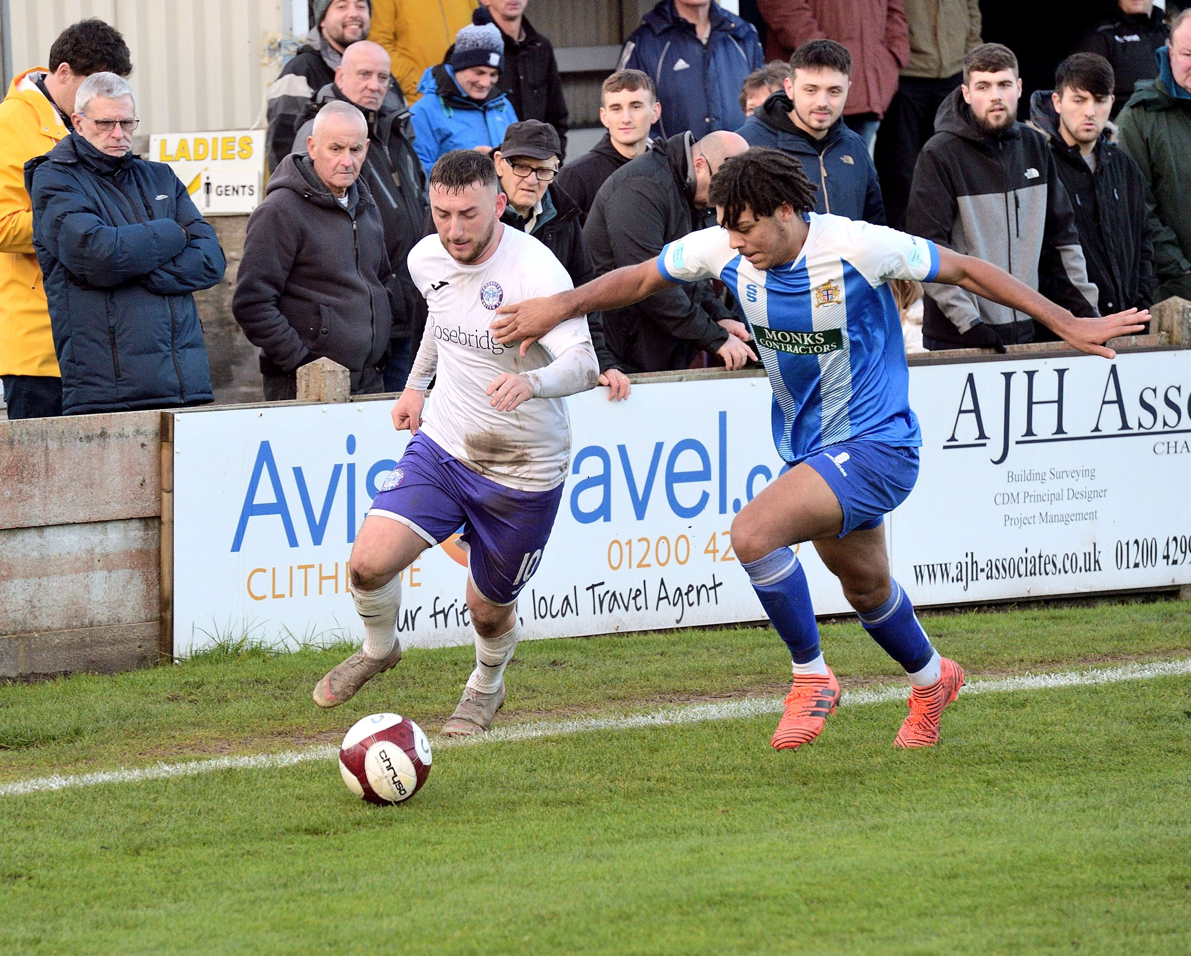 Clitheroe 2 Rams 1 - Match Action
