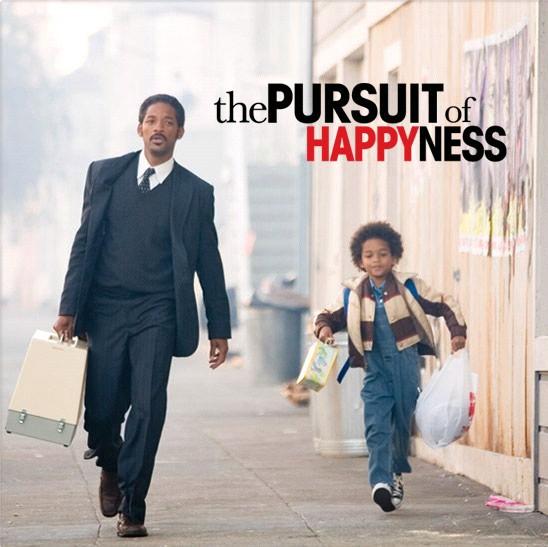 Phim The Pursuit of Happyness (Mưu cầu hạnh phúc) là bộ phim xuất sắc về nội dung, nói về nỗ lực của Chris Gardner, phim do nam diễn viên Will Smith thủ vai chánh.