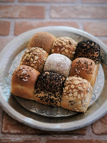 ライ麦ちぎりパン 20191026-DSCT0923 (2)