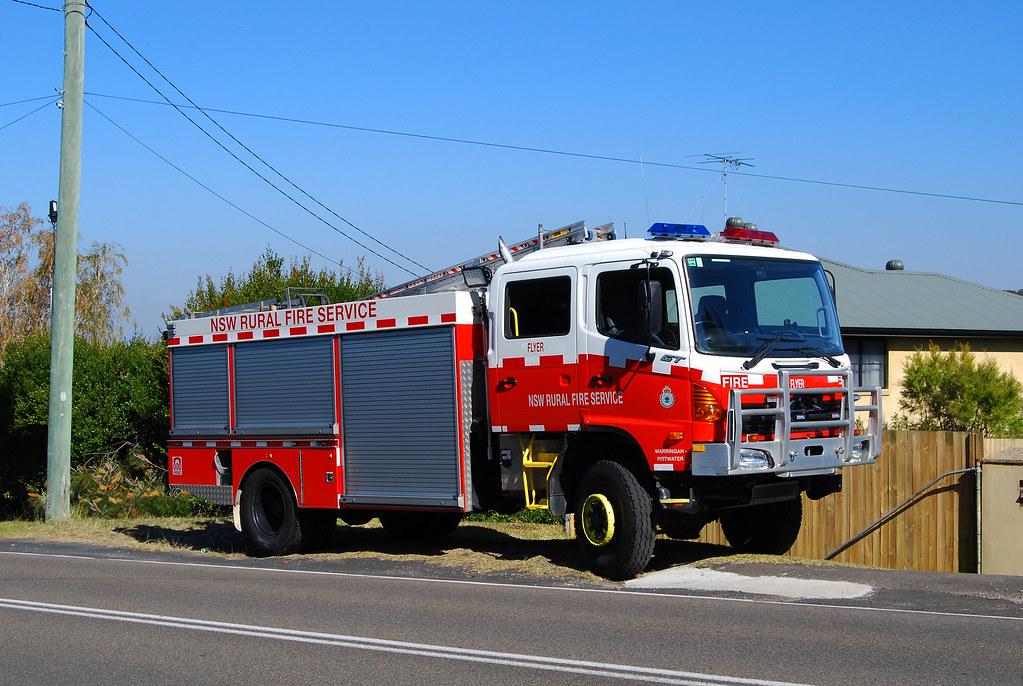 Fire Appliance, NSW Rural Fire Service, Ingleside, Sydney, NSW.