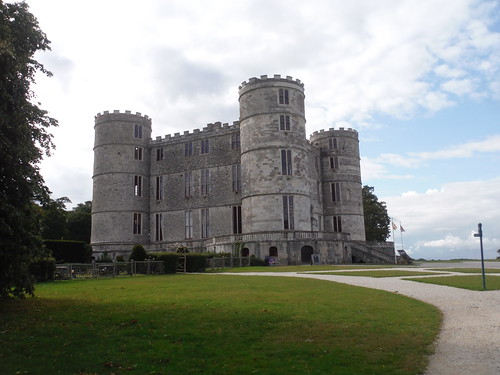 Lulworth Castle, south easterly view SWC Walk 346 - Wool Circular (via The Warren and Lulworth Cove and Castle)