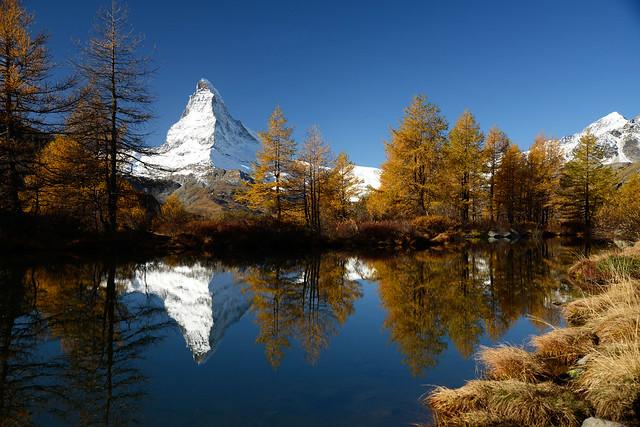 Grindjisee / Matterhorn Switzerland