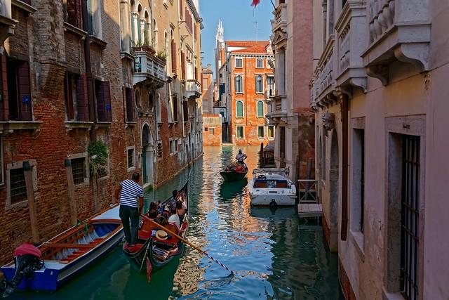 Venezia / Le due gondole