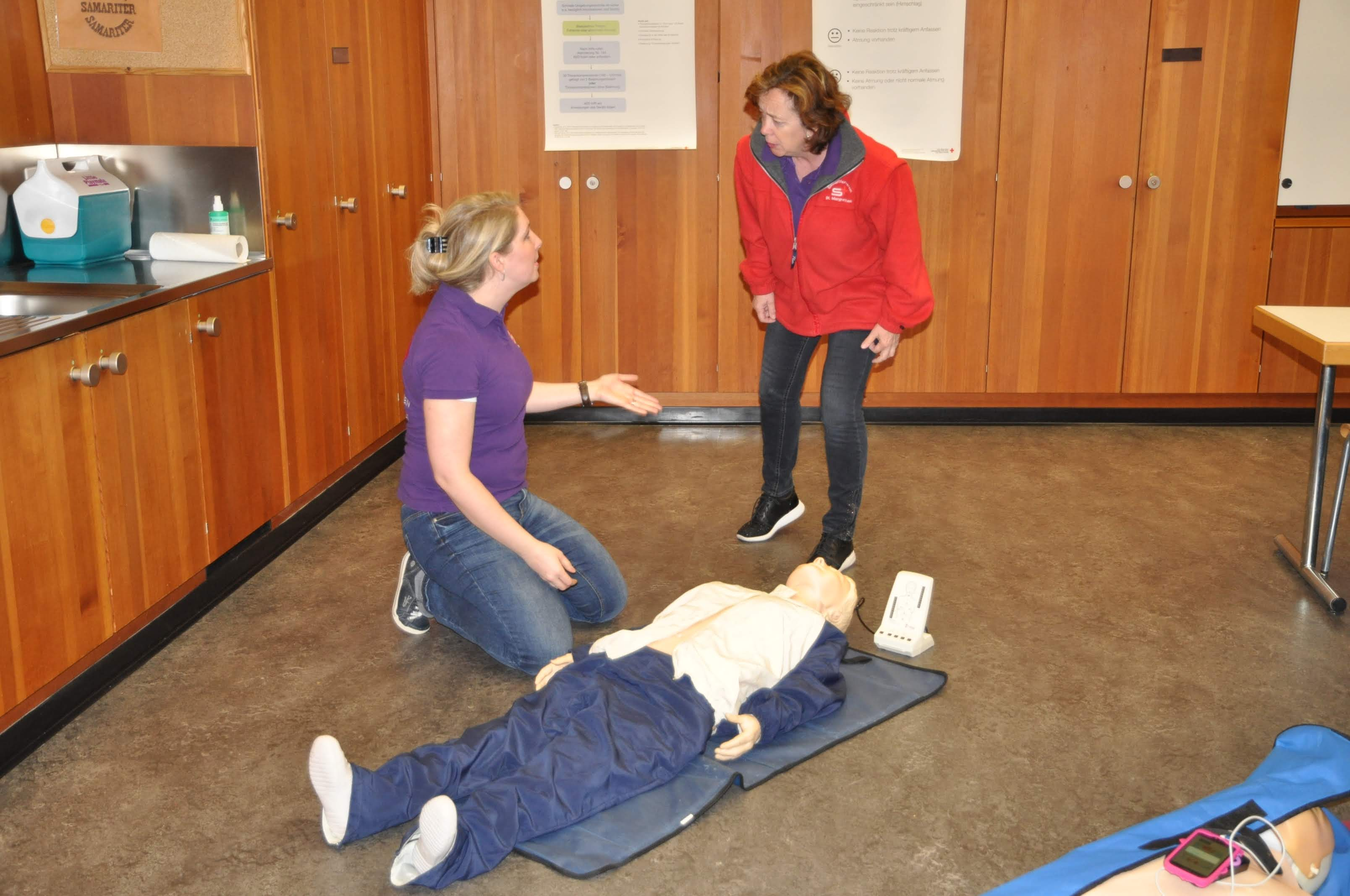 Samariterübung BLS-AED