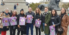 INQUEST Team at UFFC rally 2019 - Image credit  INQUEST
