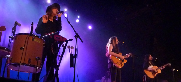 The Staves at Dublin Olympia, 6 May 2015