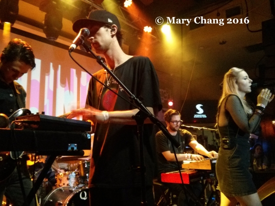 Haelos at the Clash and PPL showcase at British Music Embassy, Friday at SXSW 2016