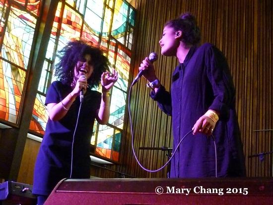 Ibeyi at Central Presbyterian Church at SXSW 2015