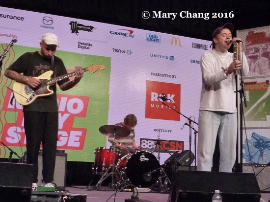 DMA's Radio Day Stage at the Convention Center, Thursday at SXSW 2016