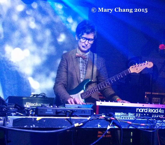 Public Service Broadcasting at British Music Embassy, Ben Sherman UKTI showcase at SXSW 2015