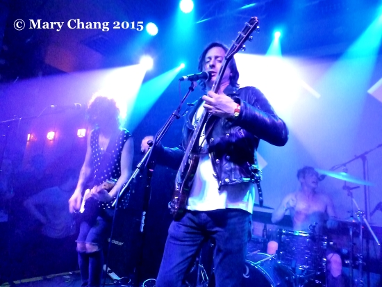 Carl Barat and the Jackals at British Music Embassy, Ben Sherman UKTI showcase at SXSW 2015