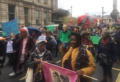 Marching on Whitehall - Image credit Rhiann Francis