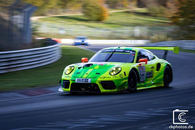 Porsche 911 GT3 R Manthey Racing #911 @ VLN 9 Nürburgring 2019