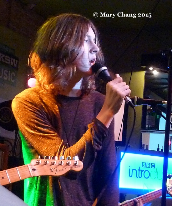 Blossoms at BBC Introducing PRS for Music at SXSW 2015