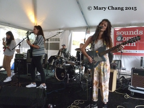 Hinds at SXSW 2015