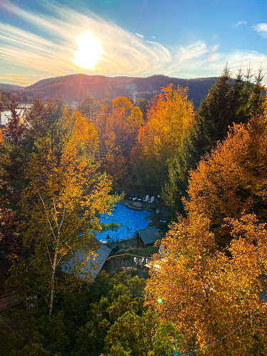 autumn flare foliage monttremblant season nature laurentianmountains trees maple plants westin snapshot travel sunset twilight landscape québec canada america monttremblantskiresort northamerica fallcolours dusk fall halflight laurentides quebec skiresort snaps tremblant