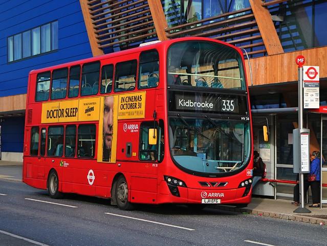Arriva London - HV38 - LK11EFG