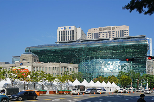 L'Hôtel de ville de Séoul (Corée du sud)
