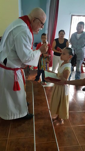 First communion of Anyi Garrido