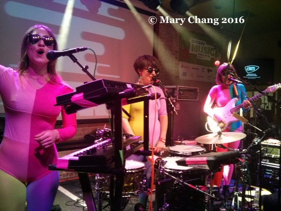 Stealing Sheep at Cerdd Cymru Music Wales at the British Music Embassy at Latitude 30, Friday at SXSW 2016