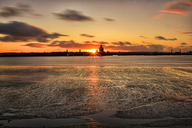 Amazing Sunset Liverpool