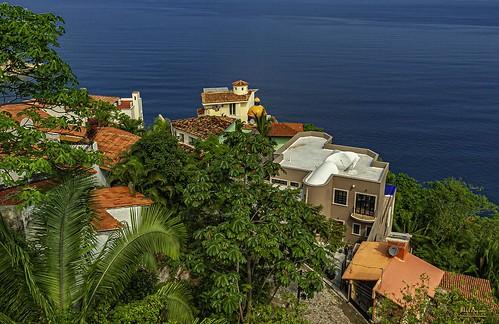 puerto vallarta mexico cacas home villa ocean water view landscape overlook