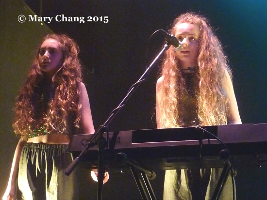Let's Eat Grandma live at Norwich Sound and Vision 2015