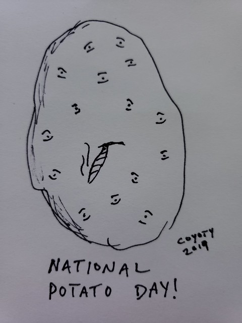Inktober 27, 2019: National Potato Day