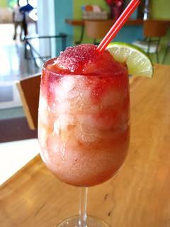 Icy Cranberry Margaritas