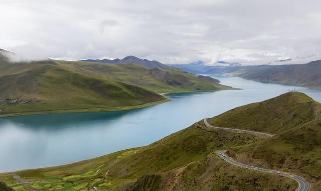 Lake Yamdrok Yutso, Tibet 2019